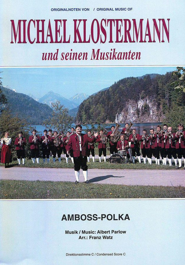 Albert Parlow: Amboss Polka: Concert Band: Score