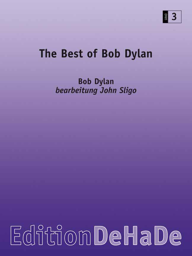 Bob Dylan: The Best of Bob Dylan: Concert Band: Score & Parts