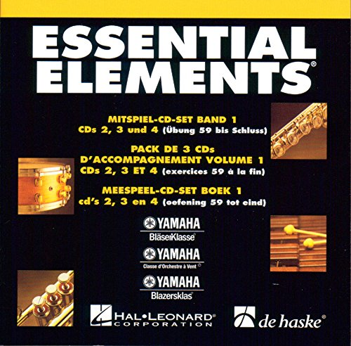 Essential Elements Band 1 - Mitspiel-CD-Set: Concert Band: CD