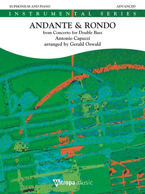 Antonio Capuzzi: Andante & Rondo: Euphonium: Instrumental Work