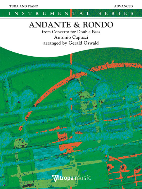Antonio Capuzzi: Andante & Rondo: Tuba: Instrumental Work