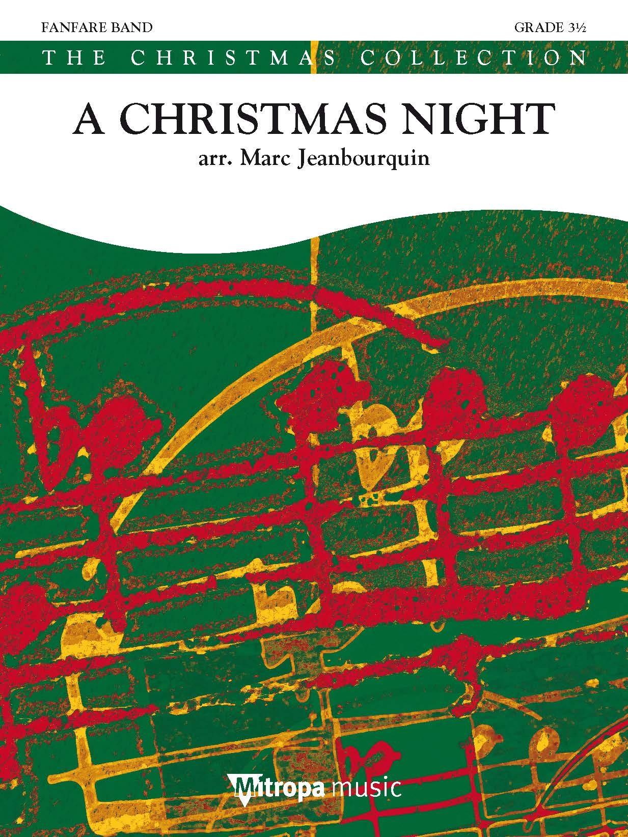 A Christmas Night: Fanfare Band: Score