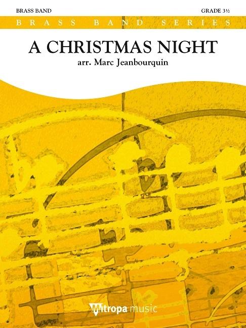 A Christmas Night: Brass Band: Score & Parts
