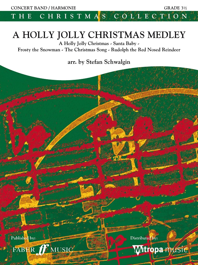 A Holly Jolly Christmas Medley: Concert Band: Score