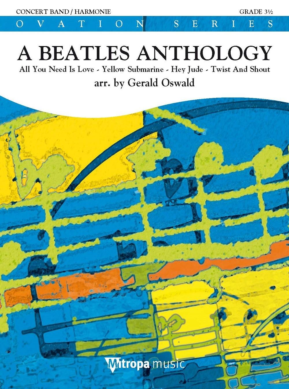 A Beatles Anthology: Concert Band: Score & Parts