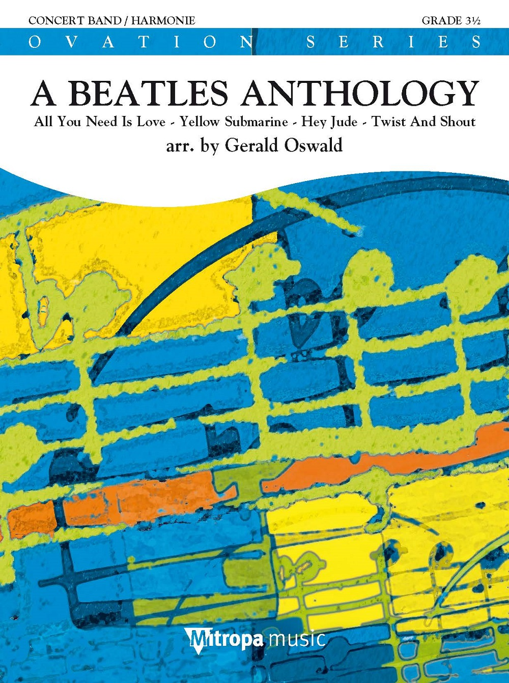 A Beatles Anthology: Concert Band: Score