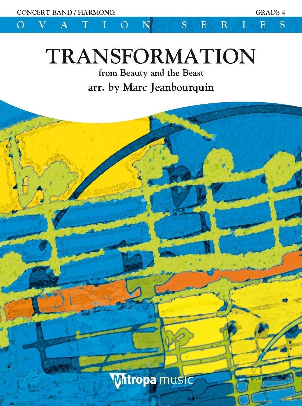 Alan Menken: Transformation: Concert Band: Score