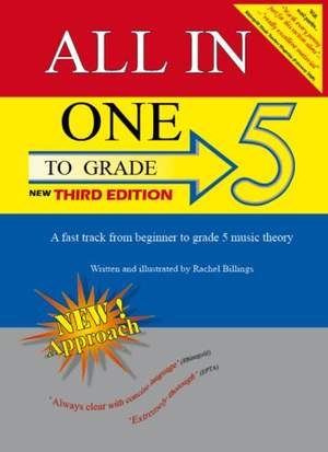 All in one to Grade 5 Music Theory 3rd Ed: Theory: Theory Workbook