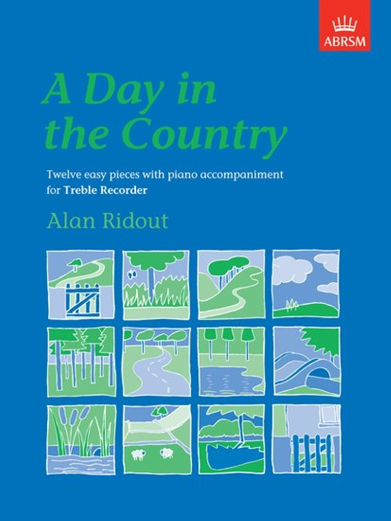 Alan Ridout: A Day in the Country: Descant Recorder: Instrumental Work