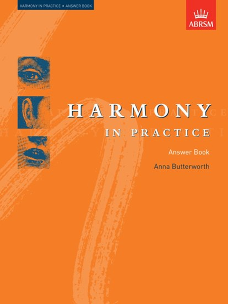 Anna Butterworth: Harmony in Practice: Answer Book: Theory