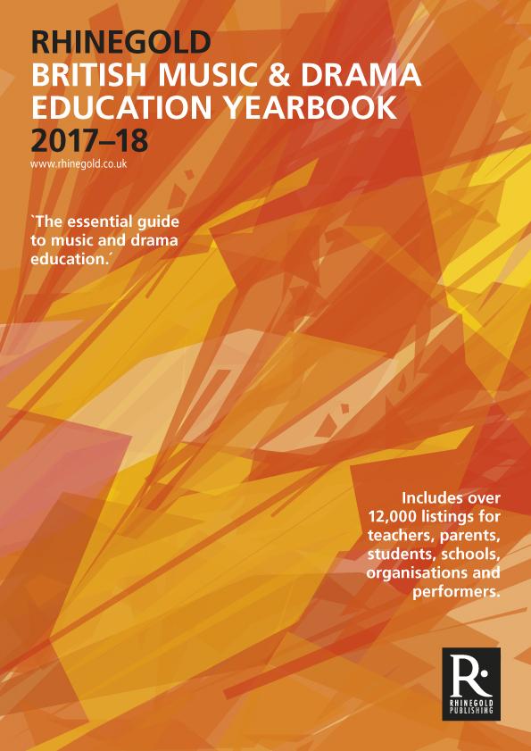 British Music & Drama Education Yearbook 2018: Reference