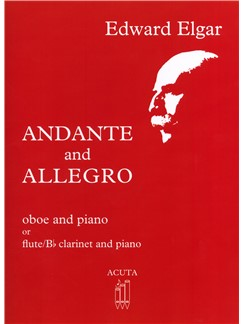 Edward Elgar: Andante & Allegro - Oboe/Piano: Oboe: Instrumental Work