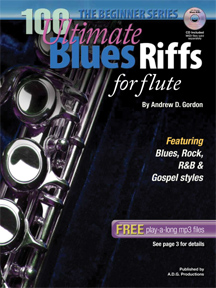 100 Ultimate Blues Riffs: Flute: Instrumental Album
