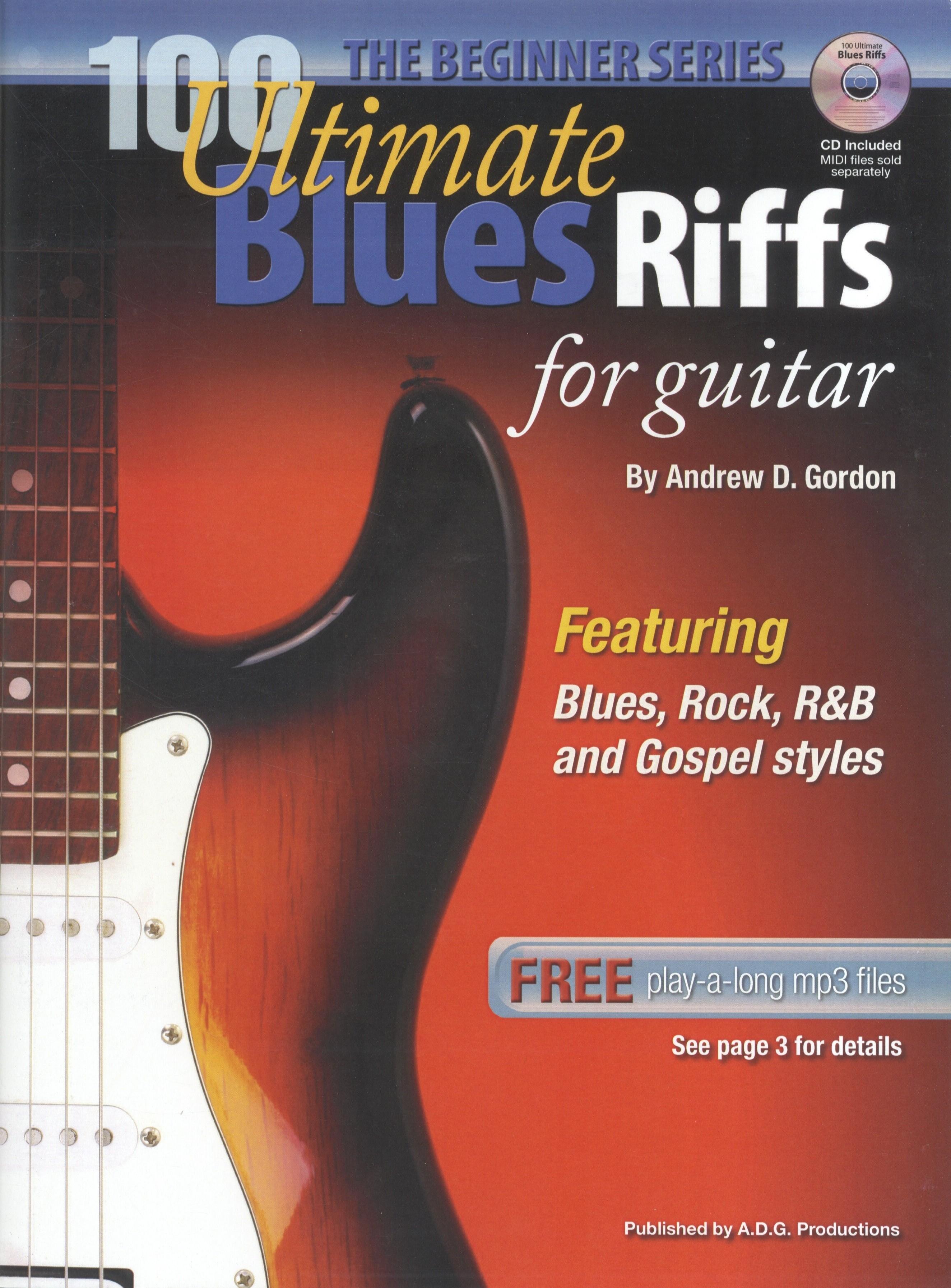 100 Ultimate Blues Riffs: Guitar: Instrumental Album