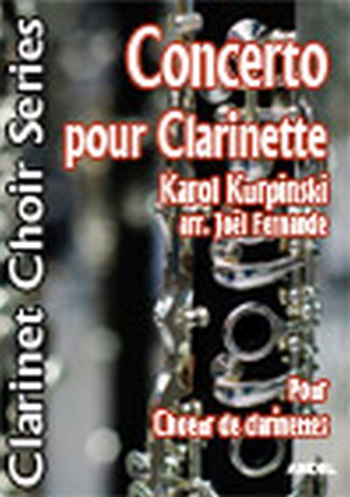 Karol Kurpinski: Concerto Pour Clarinette: Clarinet Ensemble: Score and Parts