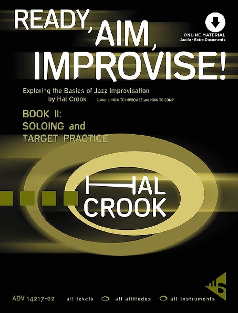 Hal Crook: Ready Aim Improvise! Band 2: Theory