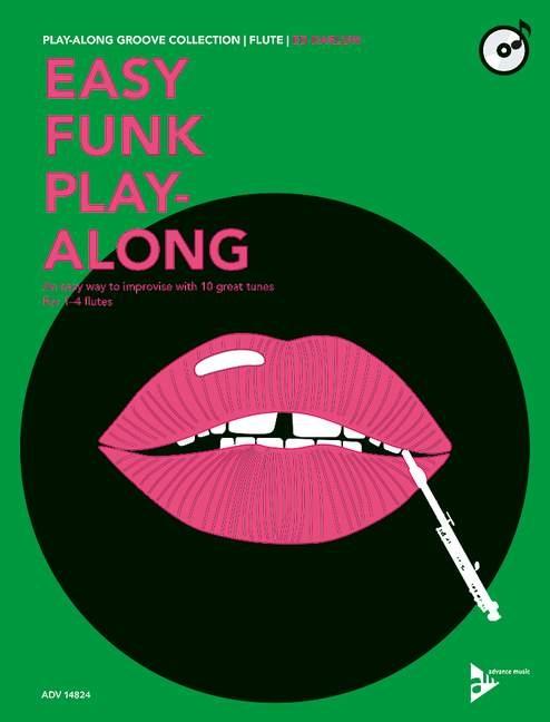 Ed Harlow: Easy Funk Play-Along: Flute: Instrumental Work