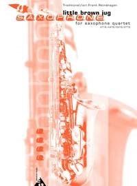 Frank Reinshagen: Little Brown Jug: Saxophone Ensemble: Score and Parts