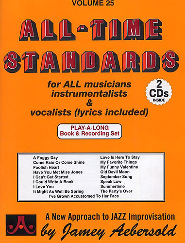 All-Time Standards: Any Instrument: Vocal Album