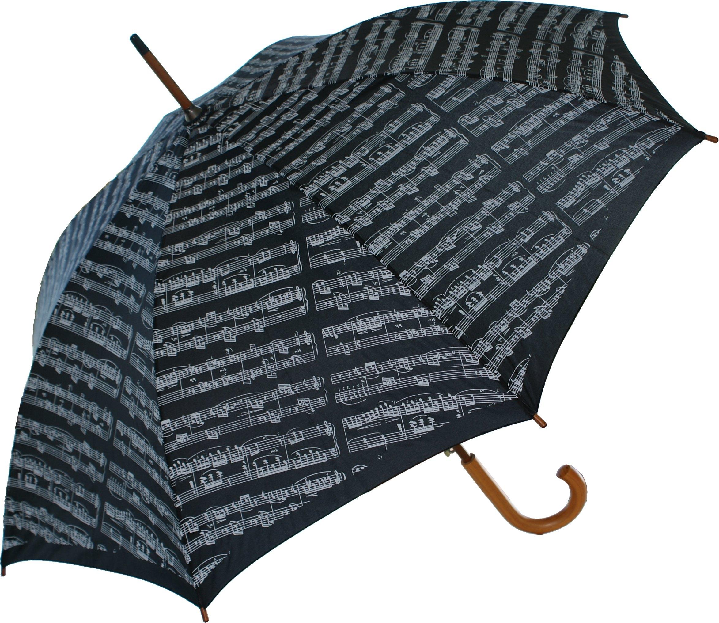 AIM Gifts Umbrella: Sheet Music Design Green