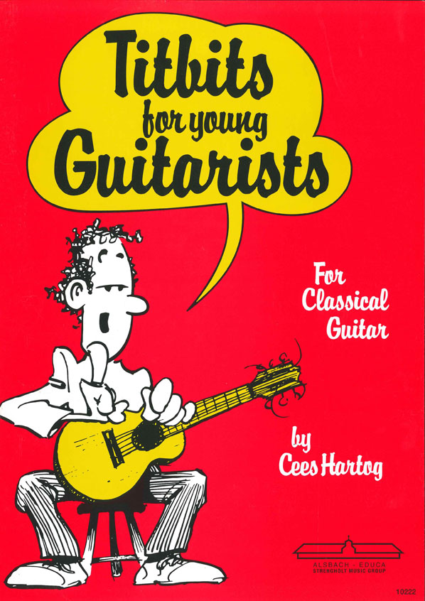 Cees Hartog: Titbits for young gitarists: Guitar: Instrumental Album