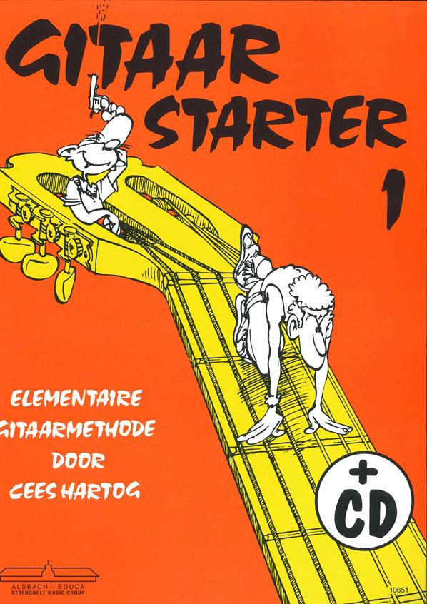 Cees Hartog: Gitaar Starter deel 1: Guitar: Instrumental Tutor