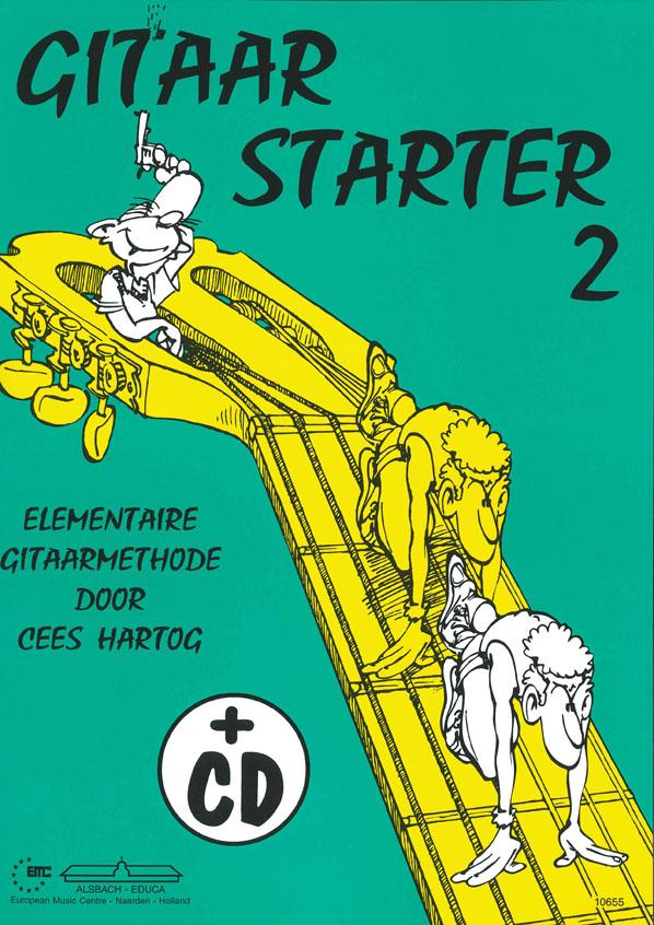 Cees Hartog: Gitaar Starter deel 2: Guitar: Instrumental Tutor