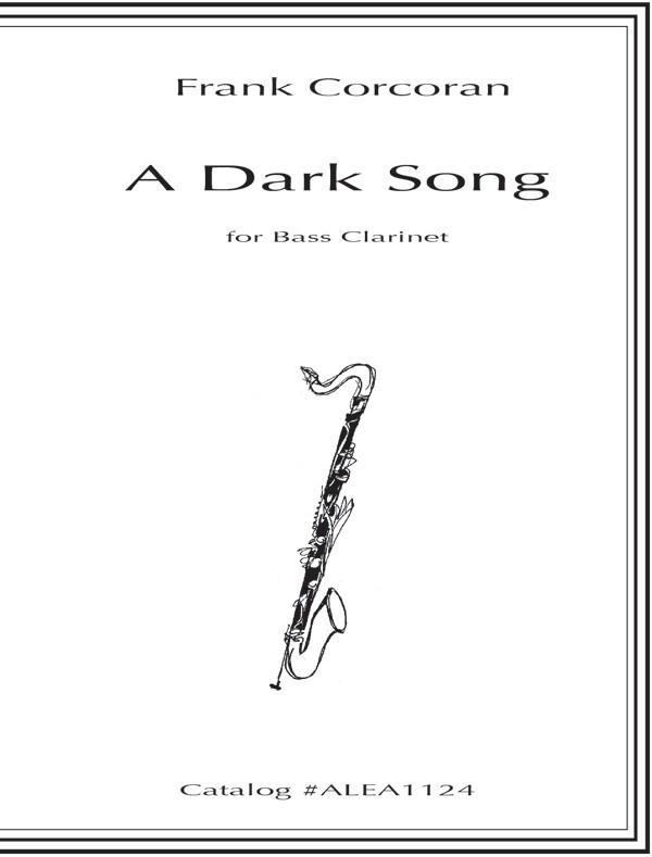 Frank Corcoran: A Dark Song: Clarinet Solo: Instrumental Work