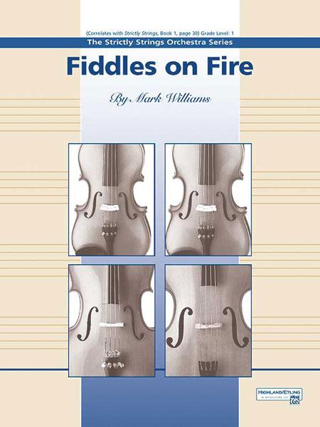 Mark Williams: Fiddles on Fire: String Orchestra: Instrumental Work
