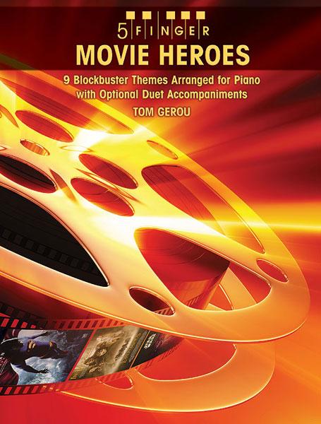5 Finger Movie Heroes: Piano: Instrumental Album