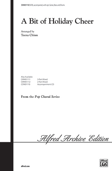 A Bit of Holiday Cheer: SATB: Vocal Score