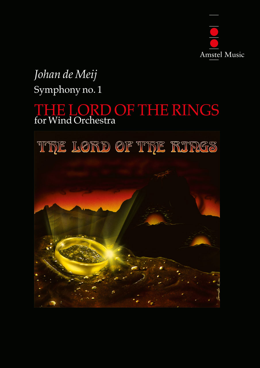 Johan de Meij: The Lord of the Rings (Complete Edition): Concert Band: Score and