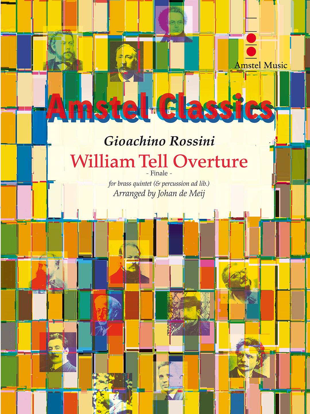 Gioachino Rossini: William Tell Overture - Finale: Brass Ensemble: Score and