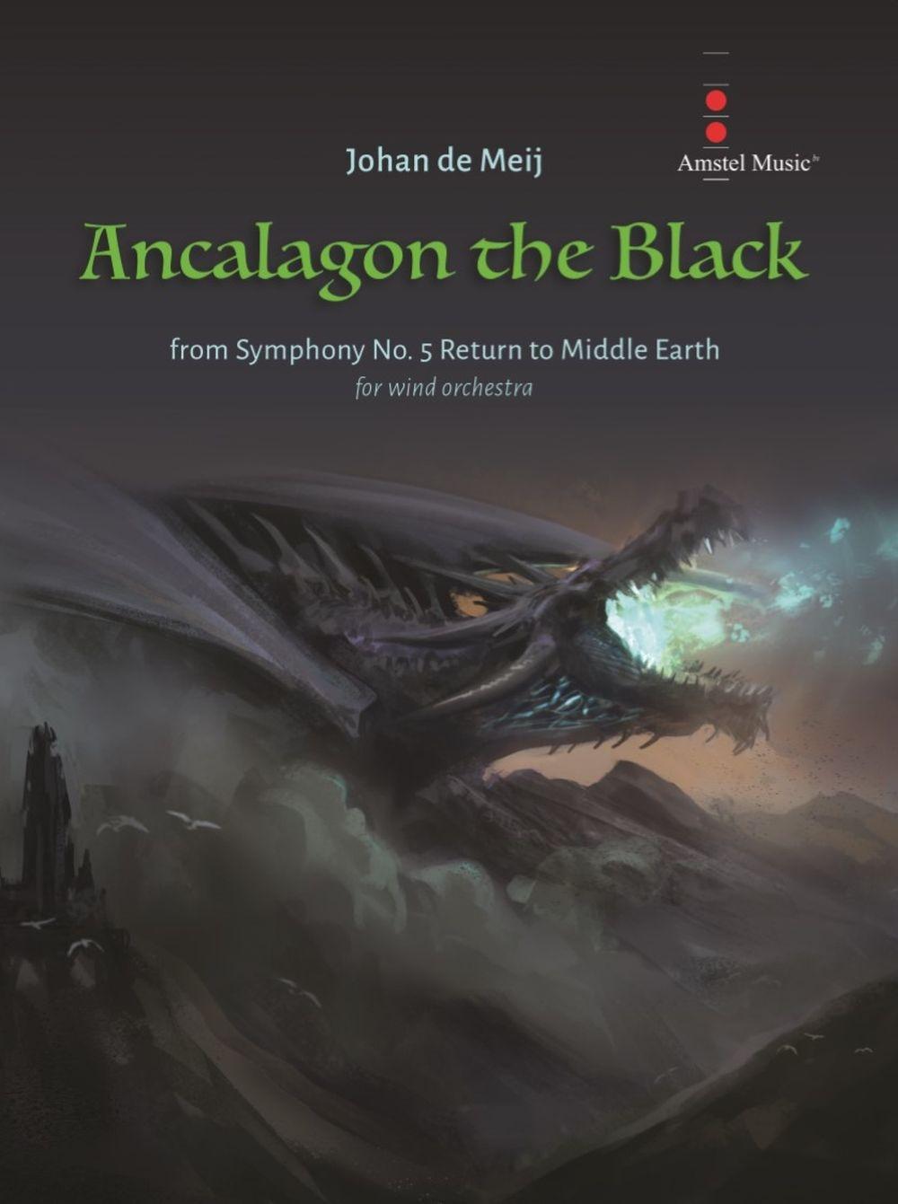 Johan de Meij: Ancalagon the Black: Concert Band: Full Score
