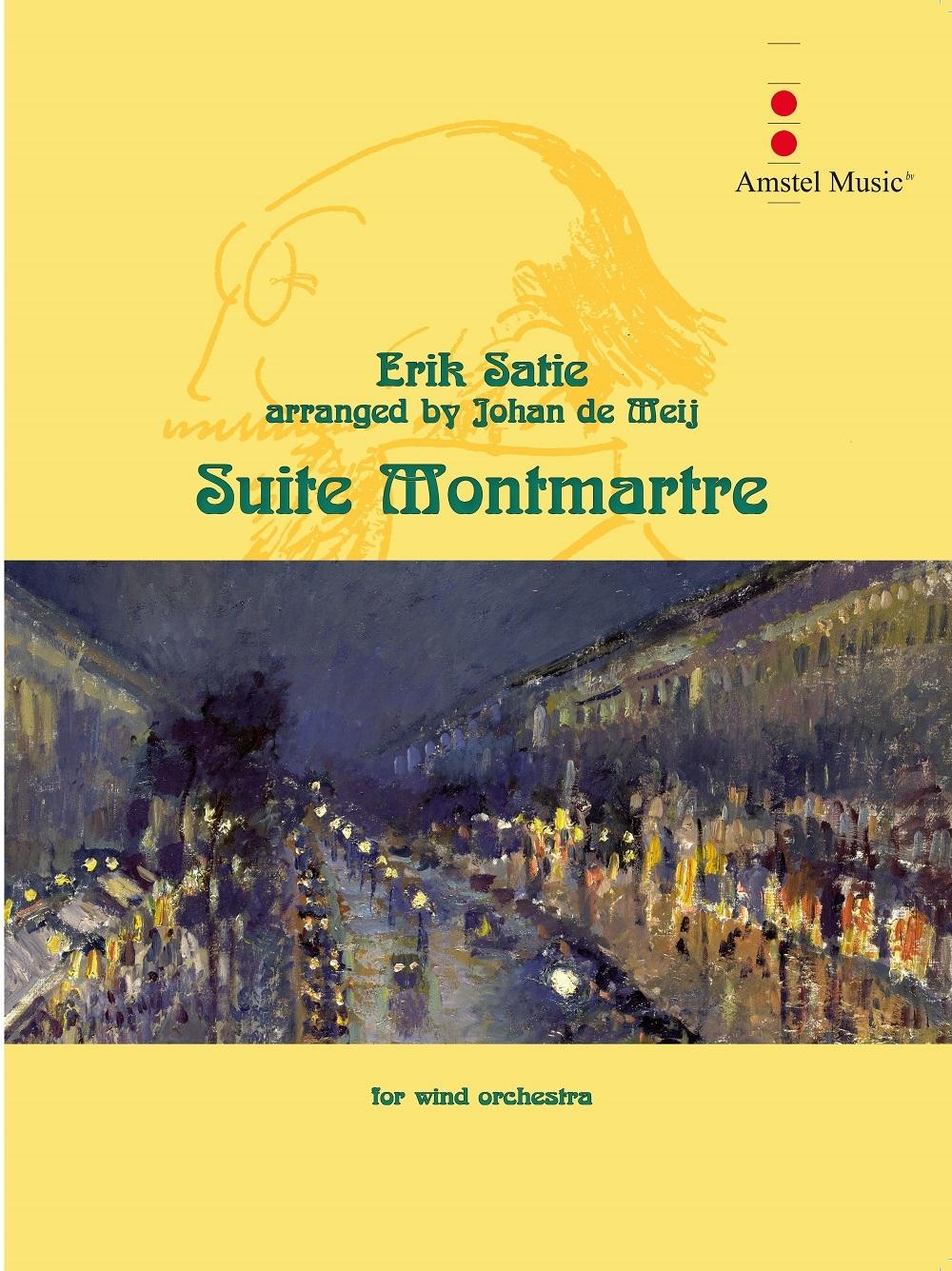 Erik Satie: Suite Montmartre: Concert Band: Score & Parts
