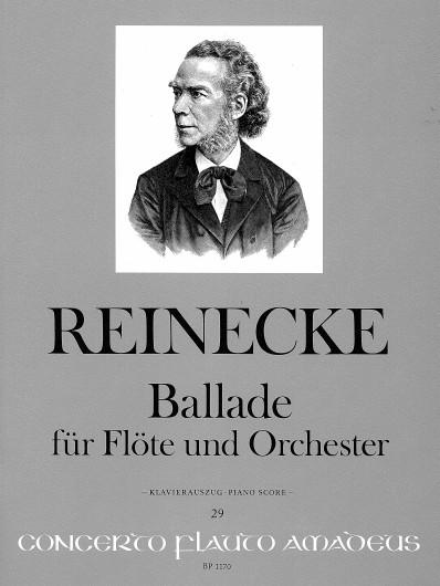 Carl Reinecke: Ballade Op.288: Flute: Instrumental Work