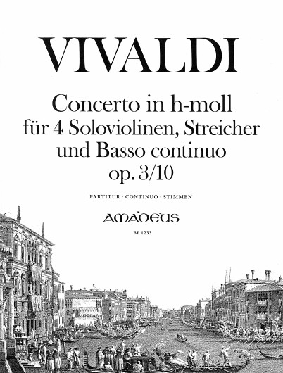 Antonio Vivaldi: Concert 10 B Op.3: String Ensemble