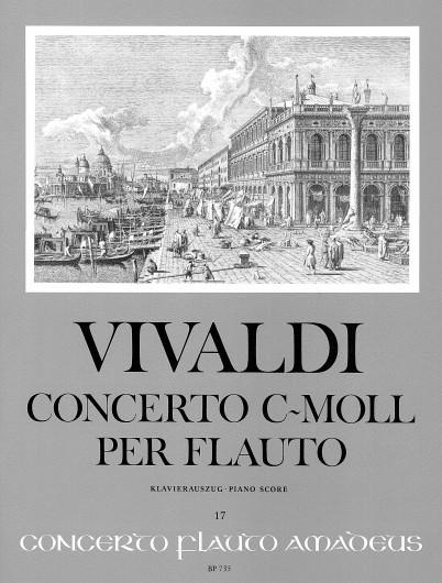 Antonio Vivaldi: Concerto C Minor Op. 44 Nr. 19 RV 441: Treble Recorder: