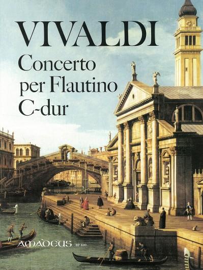 Antonio Vivaldi: Concerto for Flute in C Major Op 44/11: Treble Recorder: Score