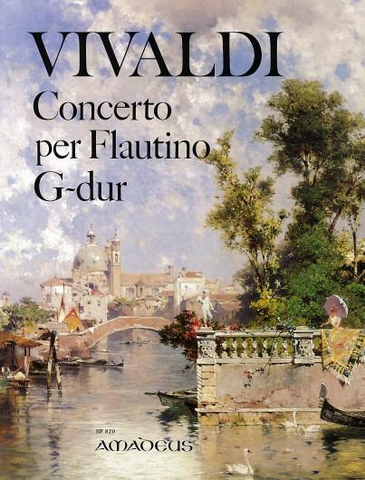 Antonio Vivaldi: Concerto in G Major: Flute: Instrumental Work