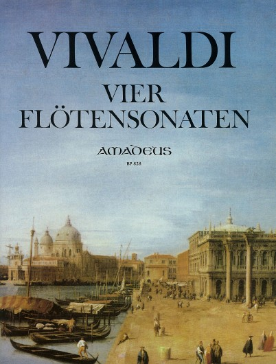 Antonio Vivaldi: 4 Sonaten: Flute