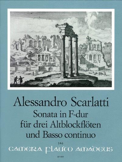 Alessandro Scarlatti: Sonata in F-dur: Recorder Ensemble: Instrumental Work