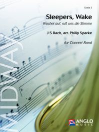 Johann Sebastian Bach: Sleepers Wake: Brass Band: Score & Parts