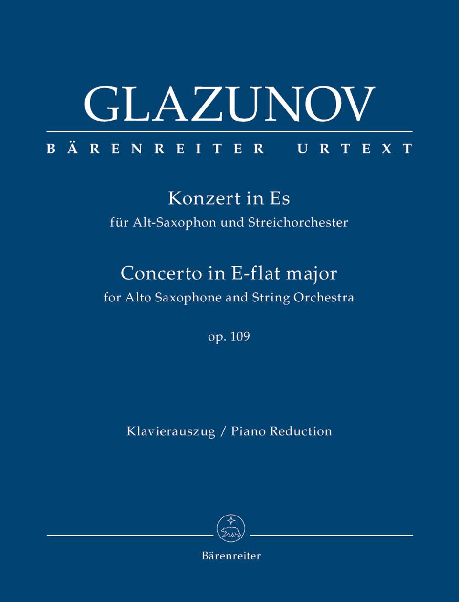 Alexander Glazunov: Concerto: Alto Saxophone: Instrumental Work