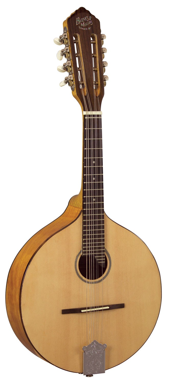 Mandolin Abbott Model Flat Back: Mandolin