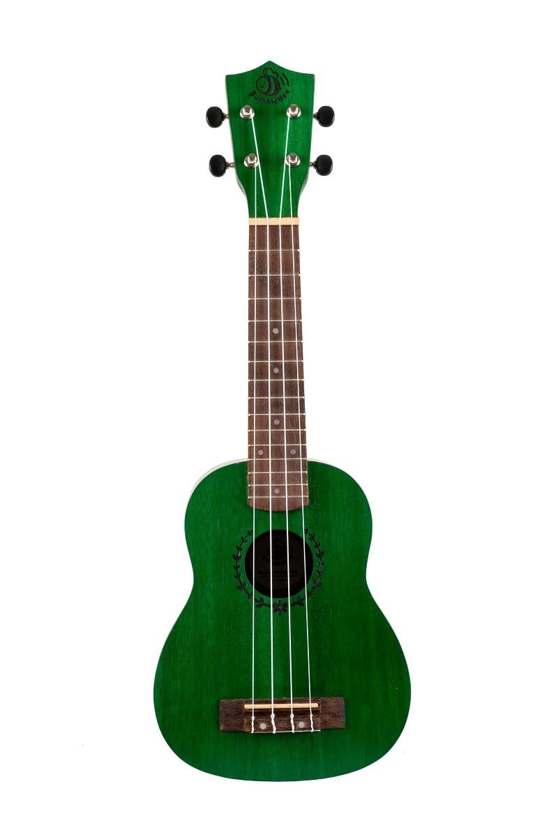 BUS23 Soprano Ukulele - Green: Ukulele