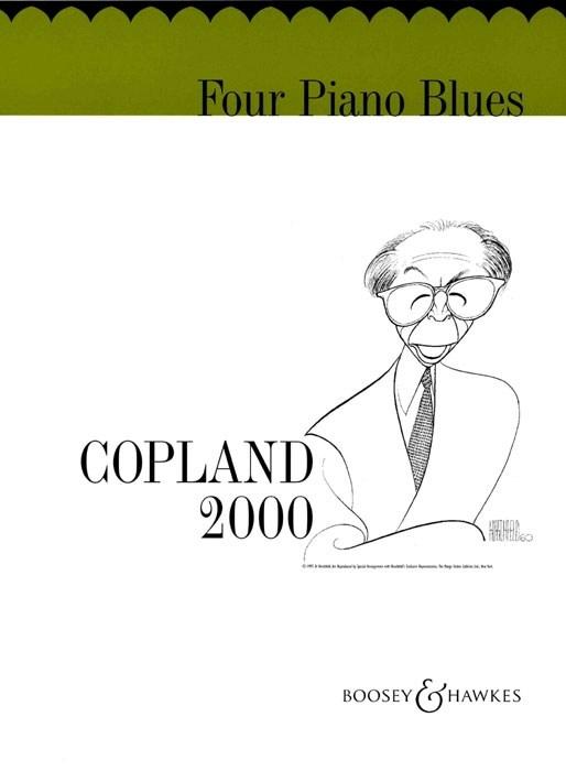 Aaron Copland: Four Piano Blues: Piano: Instrumental Work