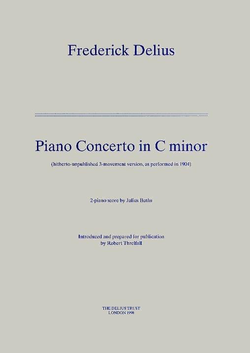 Frederick Delius: Klavierkonzert: Piano: Instrumental Work