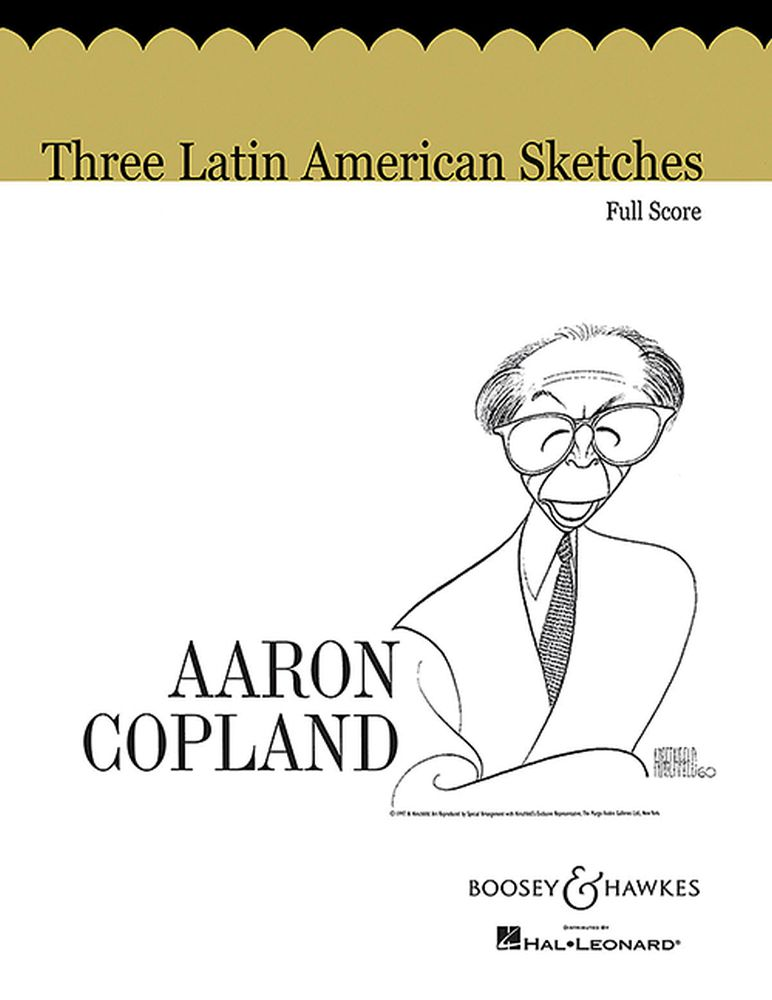 Aaron Copland: 3 Latin American Sketches: Orchestra