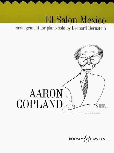 Aaron Copland: El Salón México: Piano
